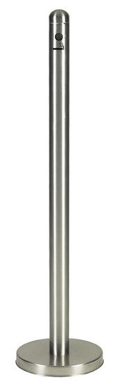 RVS Rookpaal staand model
