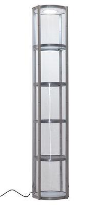 Twister mobiele vitrine zuil 250cmx60Ø