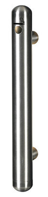 RVS Rookpaal wandmodel